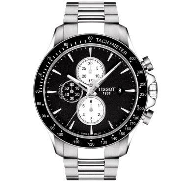2a3b0ae8a6c V8 45mm Black Dial & Bezel Men's Automatic Chronograph Watch